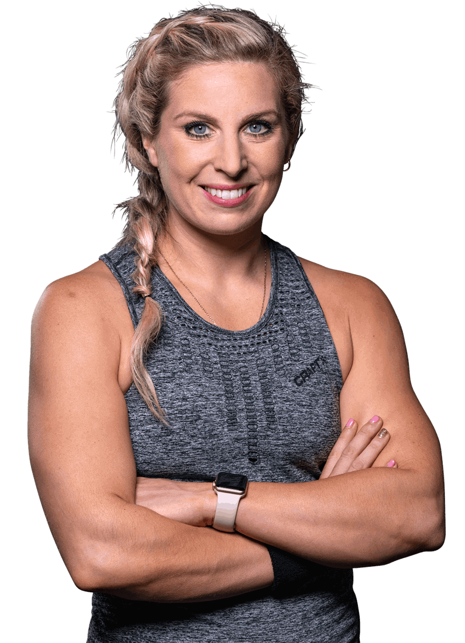 Indoor Cycling instructor Melissa Power