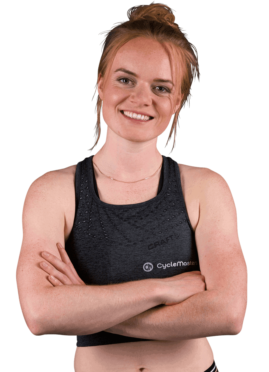 Indoor Cycling instructor Sanne Schol